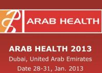 ARAB HEALTH 2013 in Dubai